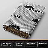 Sound Deadening mat 50 mil 52 sqft | Sound Deadener Mat | Car Sound Dampening material | Sound dampener | Sound deadening material sound Insulation | Car Sound deadening Bulk Kit Trunk Hood Door Mats