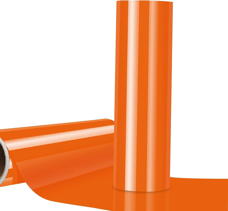 Glossy Crystsal Orange High quality Adhesive Choice Vinyl Craft Permanent Skinny Vin