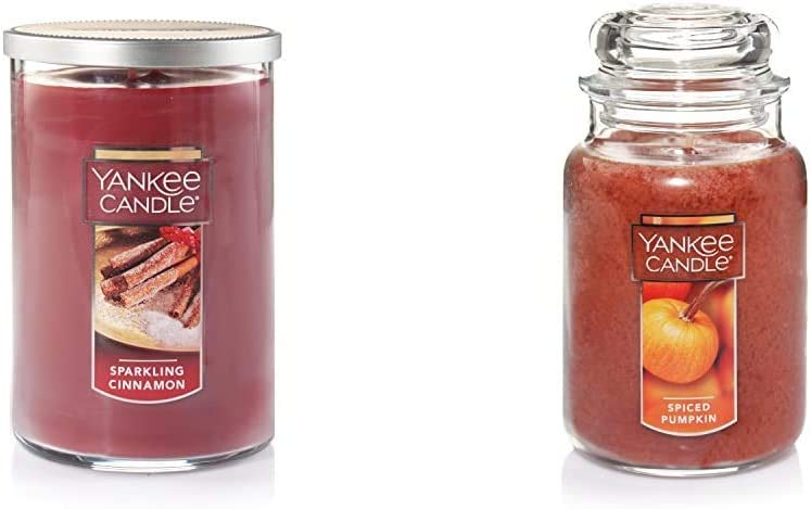 Yankee Candle Large 55% OFF 2-Wick Tumbler Cinnamon Ranking TOP5 Sparkling
