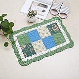 Pastorable Floral Anti-Rutsch-Matte Rechteck TeppichErkerfenster BodenmatteWohnzimmer FußmatteTeppiche Forhome Decor Küche Pads ca.40x60cm color18