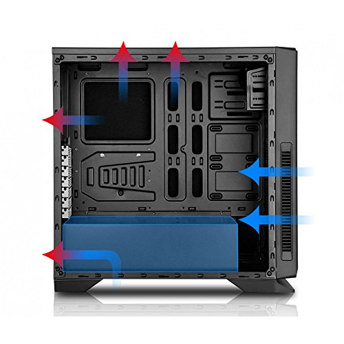 Nox Hummer ZN - NXHUMMERZN - Caja PC, USB 3.0, Color Negro: Amazon ...