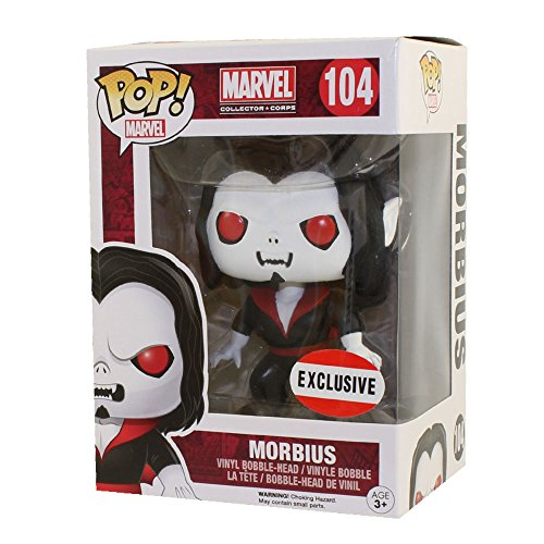 Marvel Collector Corp Exclusive Funko Pop Morbius #104 by