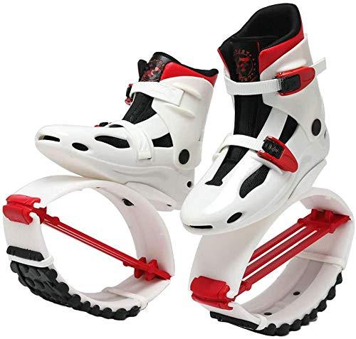 Zapatillas de salto para adultos, zapatos de salto de zapatos de rebote anti-gravedad Espacio de salto de zapatos de rebote de interior Botas para correr al aire libre para exteriores,XXL