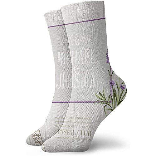 Damen Herren Crew Socken Kissen Die Hochzeitskarte Athletic Hiking Trekking Socken 30cm