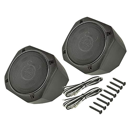 tomzz Audio 4000-011 Aufbau Lautsprecher-Satz im Gehäuse, DIN 130, 2-Wege Koax System, 100 Watt