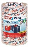 tesa Packband 'Crystal Clear', kristall-klar, 3 Rollen, 66m x 50mm