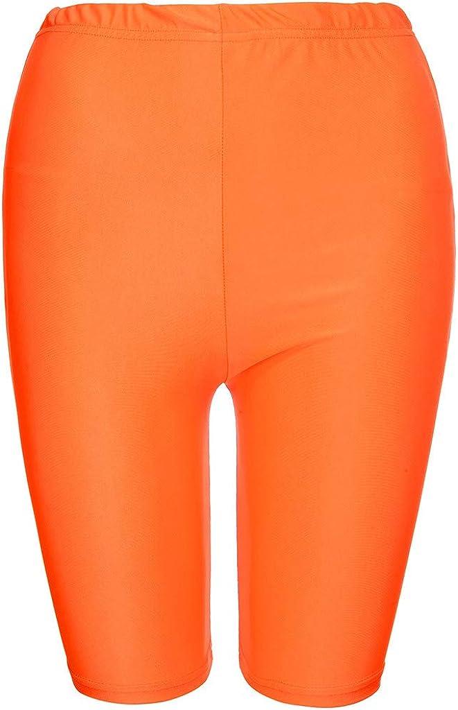 Shorts Womens High Waisted Workout Yoga Tummy Control Pants Fitness Shorts Sport Workout Running Shorts Bottom