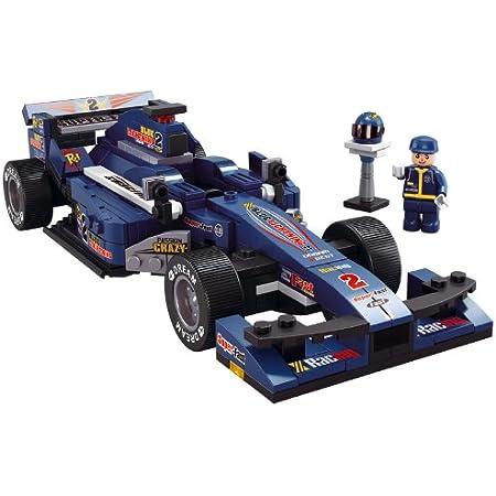 Sluban M38 B0353 F1 Racing Car Blue Spielzeug