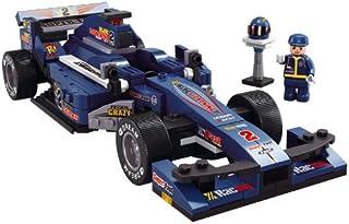 سيارة سباق لايتننج 1:24 اف 1 لون ازرق من سلوبان