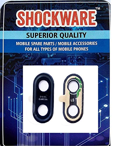 SHOCKWARE Rear Camera Glass Lens with Adhesive Sticker for ASUS Zenfone Max Pro (M1) ZB601KL