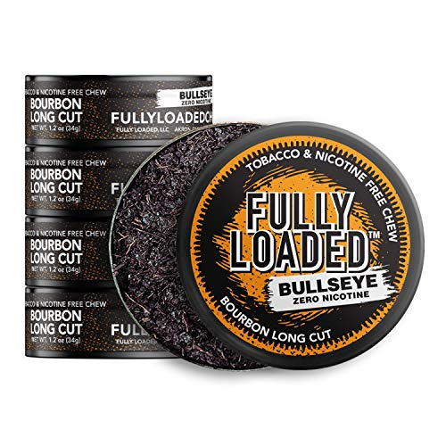 Fully Loaded Chew - 5 Pack - Tobacco and Nicotine Free Bourbon Flavored Chew