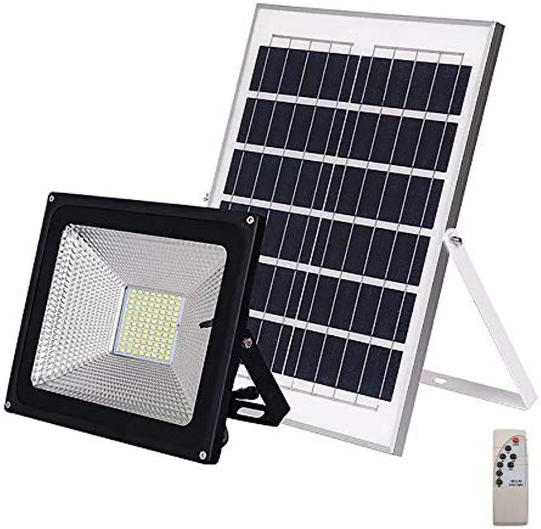 ZSSM Super Helle LED Solar Outdoor Garten Licht Fernbedienung IP65 wasserdicht Lichtsteuerung 2 Farbe Flutlicht Sensor Security Lights,25W