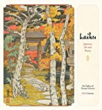 Haiku: Japanese Art and Poetry 2021 Wall Calendar