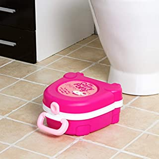MNBVH Portátil bebé Orinal Reutilizable Inodoro de Emergencia Orinal Infantil en Forma de pequeña Maleta Utilizado para in...