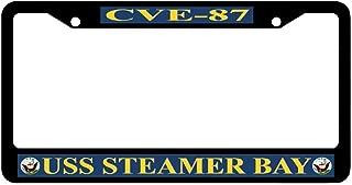Newshowlee Metal License Plate Frame Decoration for Car, Tag Frame - 12