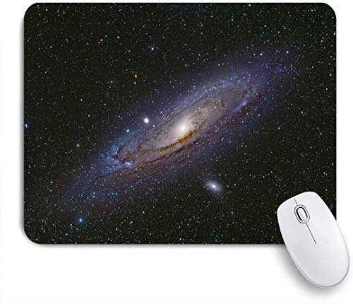 Gaming Mouse pad Custom,Star Andromeda Galaxy Milkyway Nebula Cosmos Open Clusterglobular Nature Science Design Outer,Office Personalized Design Non-Slip Rubber Mousepad 9.5 X 7.9 Inch