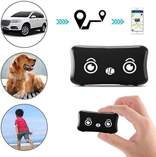 Likorlove Localizzatore GPS per Cani, Mini Impermeabile Leggero Tracker con App Finder per Animale Domestico