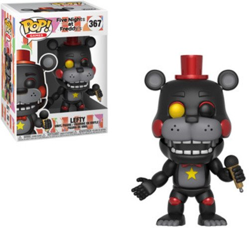 Pop Five Nights at Freddy's Pizza SIM Lefty Frog Vinyl Figure