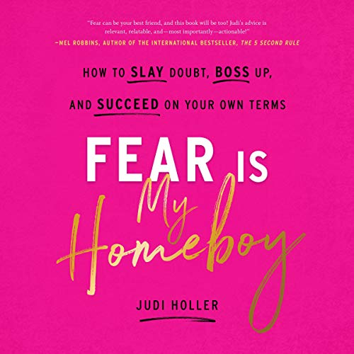 Fear Is My Homeboy audiobook cover art