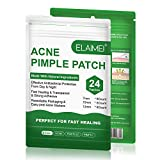Acne Pimple Patch, Acné Espinilla Patch, Parches Para Espinilla, parches de Puntos Hidrocoloides Invisibles, Impermeable y Antibacteriano Parches (2 * 24 Counts)