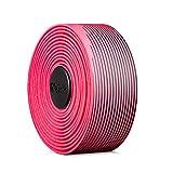 Fizik Vento Microtex Tacky Handlebar Tape 2mm Pink Fluo/Black 2019 Fahrradlenkerband 2019-Cinta para Manillar de Bicicleta (2 mm), Color Rosa y Negro, Unisex, Large