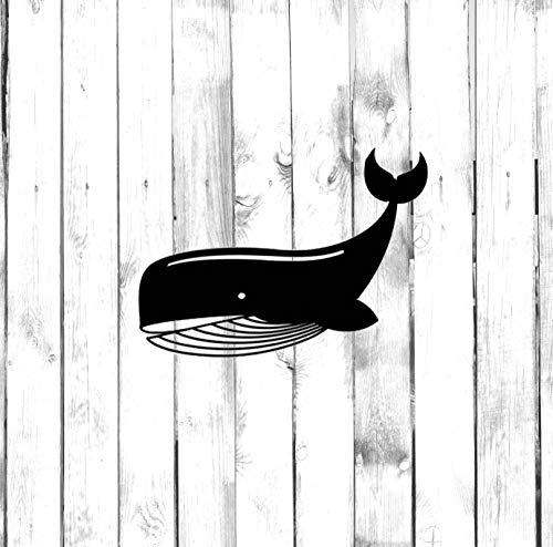 43LenaJon Calcomanía de vinilo con diseño de ballena grande