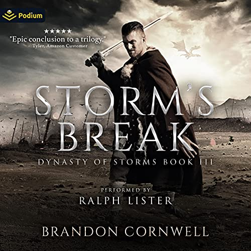 Storm's Break Audiobook By Brandon Cornwell cover art