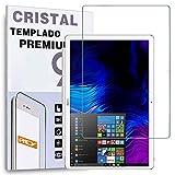 REY Protector de Pantalla para Huawei MATEBOOK E12 / MATEBOOK E 12', Cristal Vidrio Templado Premium