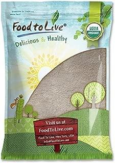 Organic Buckwheat Flour, 5 Pounds - Non-GMO, Kosher, Unbleached, Unbromated, Unenriched, Stone Ground, Powder, Meal, Bulk