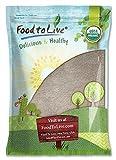 Organic Buckwheat Flour, 15 Pounds - Non-GMO, Kosher, Unbleached, Unbromated, Unenriched, Stone Ground, Powder, Meal, Sirtfood, Bulk