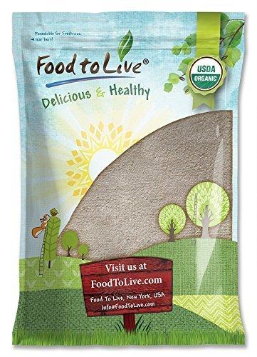 Organic Buckwheat Flour, 5 Pounds - Non-GMO, Kosher, Unbleached, Unbromated, Unenriched, Stone Ground, Powder, Meal, Sirtfood, Bulk