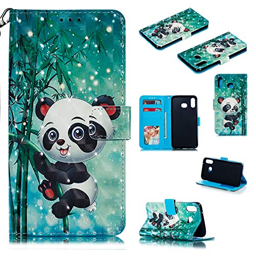 Hongjian Hulle Fur Samsung Galaxy A6s G6200 Case, PU Leather flip Case Cover 3