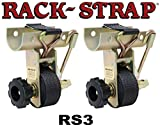 Rack Strap RS3, 2 Inch OD Round Pipe Steel Mounting Frame.