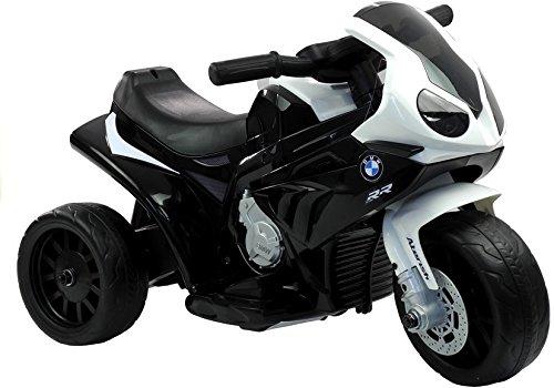 BSD Elektromotorrad für Kinder Elektrisch Ride On Kinderfahrzeug Elektroauto Motorrad - BMW S1000RR - Schwarz