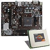 AMD Ryzen 3 2200G / MSI A320M-A PRO MAX Mainboard Bundle | CSL PC Aufrüstkit | AMD Ryzen 3 2200G 4X 3500 MHz, GigLAN, 7.1 Sound, USB 3.1 | Aufrüstset | PC Tuning Kit
