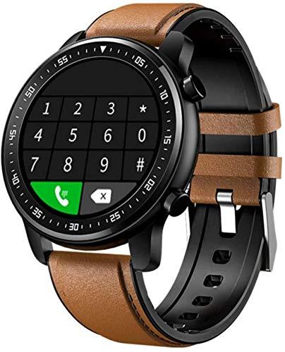 Smart Watch Bluetooth bidireccional llamada de voz puede almacenar reproducción de música ejercicio seguimiento de salud compatible con Android e iOS Phones-B