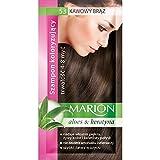 Marion Shampoo colorato per capelli in bustina, dura da 4a 8lavaggi, con aloe e cheratina