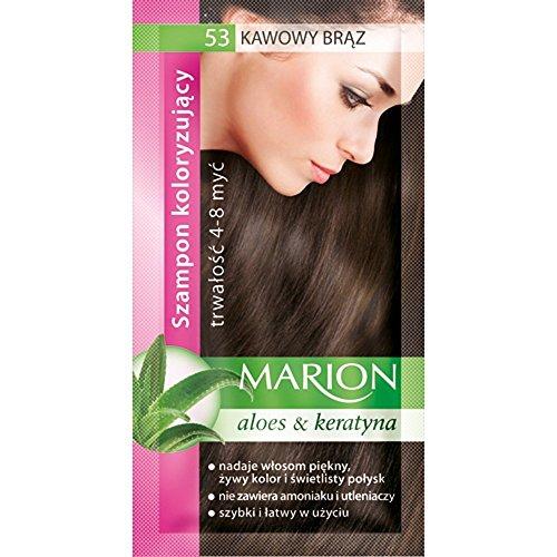 Marion Shampoo colorato per capelli in bustina, dura da...