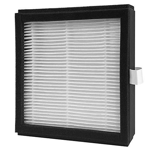 hysure® 2-in-1 Luftentfeuchter, Luftreiniger, entfernt 700 ml/Tag, Wassertank 1000 ml, HEPA-Filter, tragbarer Luftreiniger und elektrischer Feuchtigkeitsspender für das Haus Filter