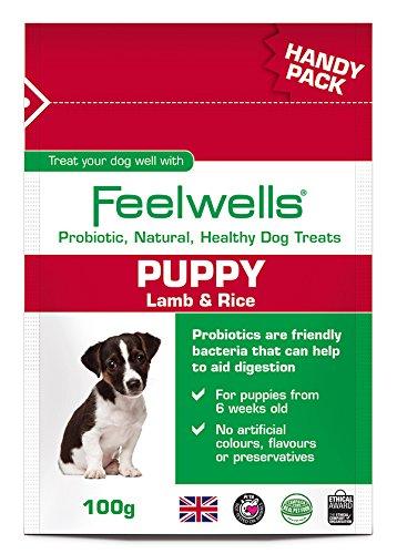 Feelwells Feelwells Probióticos Cachorros Paquete práctico, 100 g