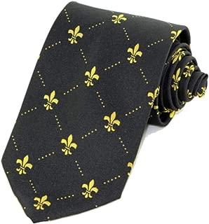 Corbata francesa de la novedad del diseñador de la flor de lis del ...