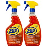Zep Heavy-Duty Citrus Degreaser and Cleaner 24 ounce (Case of 2) - Cannot Be Shipped To California