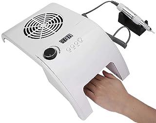 ?????? ?? ??????? Secador de esmalte de uñas, luz UV 858-8c, lámpara de esmalte de gel, kit de esmalte de uñas de gel 3 en 1 de 40 W para manicura, pedicura,(110~240V, European standard