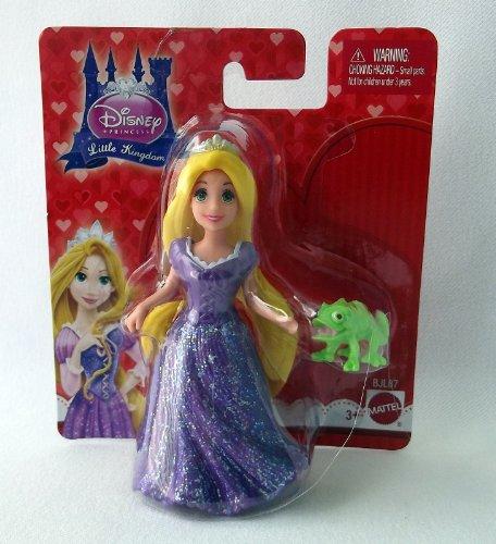Disney Princess Little Kingdom RAPUNZEL & PASCAL mini doll set with MagiClip Fashion Dress
