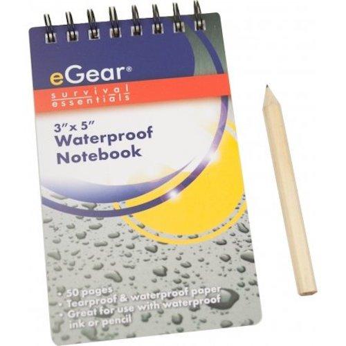 eGear Waterproof Notebook.