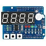 SIMNO JIAHONG Tablero de expansión multifunción del módulo DS1307 del módulo DS1307 de Reloj con Sensor de luz de Pantalla de 4 dígitos y termistor para FOR Arduino