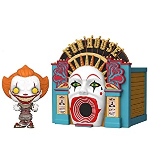 Funko- Pop Town: IT 2-Demonic Pennywise w/Funhouse Chapter 2 Balloon 15 Collectible Toy, Multicolor (45660) 5