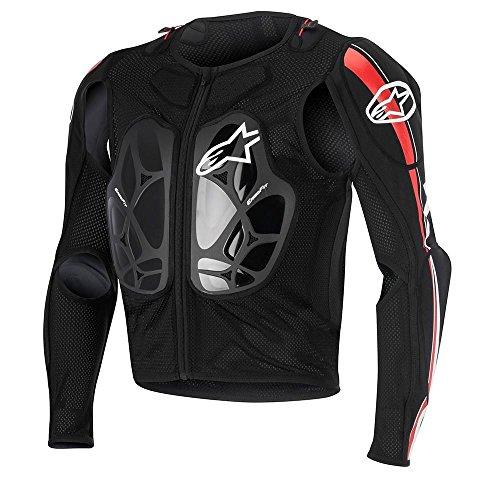Alpinestars Bionic Pro Jacke Schwarz Rot Weiß XL