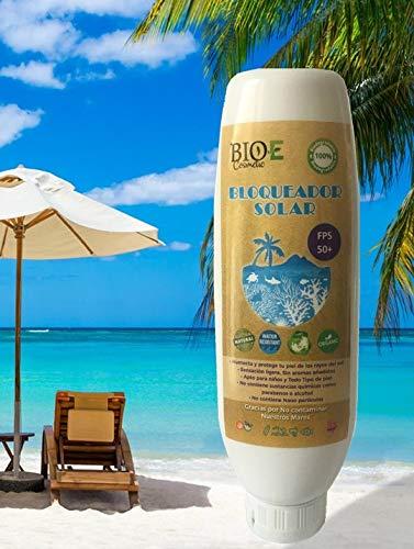 Protectores Solares Organicos marca Bio E Cosmetic