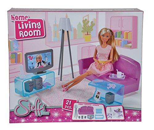 Simba 104663235 Steffi Love Home Living Room Puppenzubehör